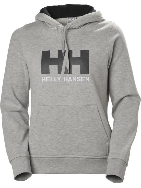 Helly Hansen W's HH Logo Hoodie Grey Melange